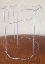 Vintage Lamp Shade Scalloped Wire Frame  - €16,15 EUR