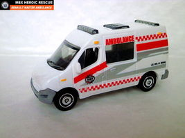 2014 Matchbox. Renault Master Ambulance 80/120. 1:64 Scale diecast - $3.99