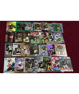 1999 Ricky Williams Rookie LOT 27 Cards UD,Prestige,Topps,Crown Royal ++... - $32.58