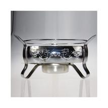 alcohol stove pot boiler dry dock single small pot   Chrome Silver - $28.49