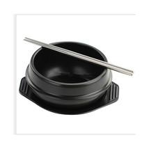 High Temperature Spodumene Stone Bowl South Korean Stone Bowl for Bibimbap - $32.99+