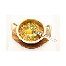 Korean Stretched Noodles Pot Yellow Aluminum Pot Instant Noodles Thick  shallow - $16.99+