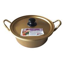 Stretched Noodles Instant Noodles Thick Pot Yellow Aluminum Pot 20cm - $16.99