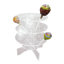 Lollipop Display Stand Holder Server Acylic 18 Holes 3 Layers - $18.99