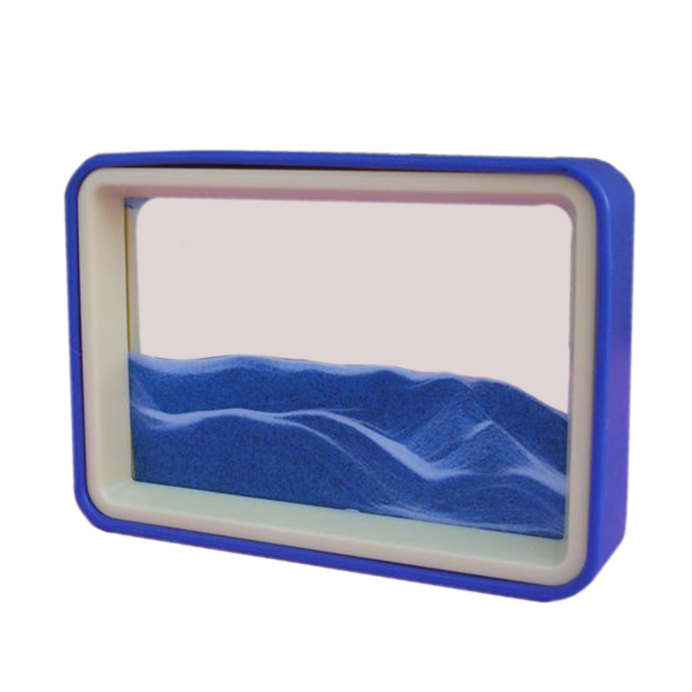 3D Creative Moving Sand Glass Art Picture and similar items