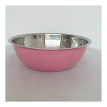 three-piece stainless steel rice sieve  Wash rice and vegetables basin - $33.24