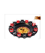 Adult Drinking Casino 16 Glasses Party Club Game Spin N Shot Wheel Roule... - $37.99