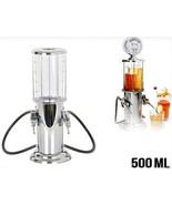 Gas Station Design Double Gun Liquor Beer & Beverage Dispenser 500ML - $33.24
