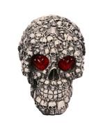 Tricky Toys Resin Glittery Skull Statue Human Skeleton Halloween - €24,61 EUR