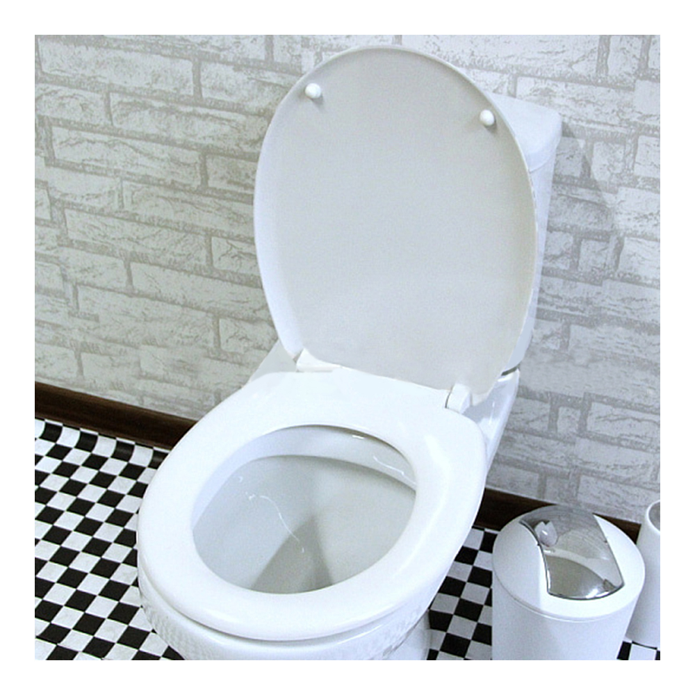 Union Jack Resin No Slow Descent Toilet Seat Toilet Seats