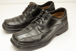 Skechers 10 Black Oxfords Men's Shoes - $34.00