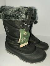 Kamik Women's Momentum 2 Insulated Waterproof Winter Lace-Up Boots - Bla... - $68.31