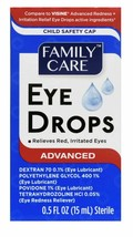 Eye Drops For Relieves Red, Irritated eyes 0.5fl oz, 15 ml sealed new  exp 10/22