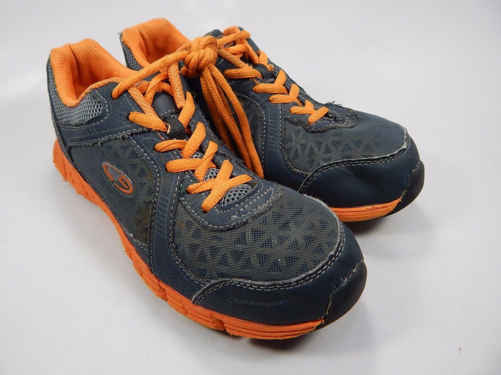 Champion Boys Athletic Shoes US Size 4.5 Y Youth (M) EU 37 Orange Gray