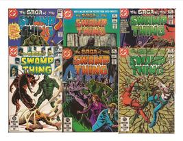DC The Saga Of The Swamp Thing Lot #'s 1-5, & 10 Creature Feature Adventure - $19.95