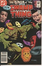 DC The Saga Of The Swamp Thing #16 Creature Feature Adventure - $3.95