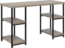 Double Pedestal Desk, Sonoma Oak - $130.89