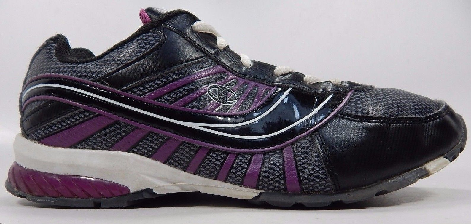Champion Women's Athletic Running Shoes Size US 10 M (B) EU 42.5 Black Purple