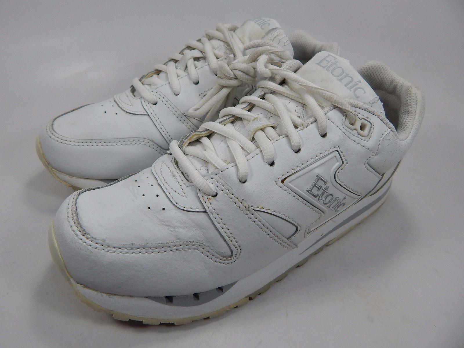 Etonic Trans Am Women's Trainer Shoes Size US 7 M (B) EU 38 White