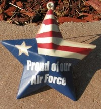 OR226 - Proud Air Force - Metal Christmas Ornament - $1.95