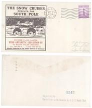 1941 Snow Cruiser Reaches South Pole Registered Cover! L. America USS No... - $5.89