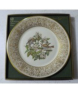 Lenox - The Wood Thrush - Ist in Series - Bird Collector Plate - 1970 w/Box - $25.73
