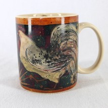 Lang And Wise Celestial Rooster Coffee Tea Mug Susan Winget 12 oz Collector - $15.99