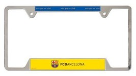 FC Barcelona License Plate Frame - $15.59