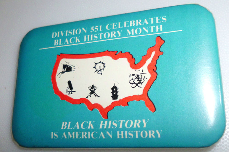 Division 551 Celebrates Black History Month Pin