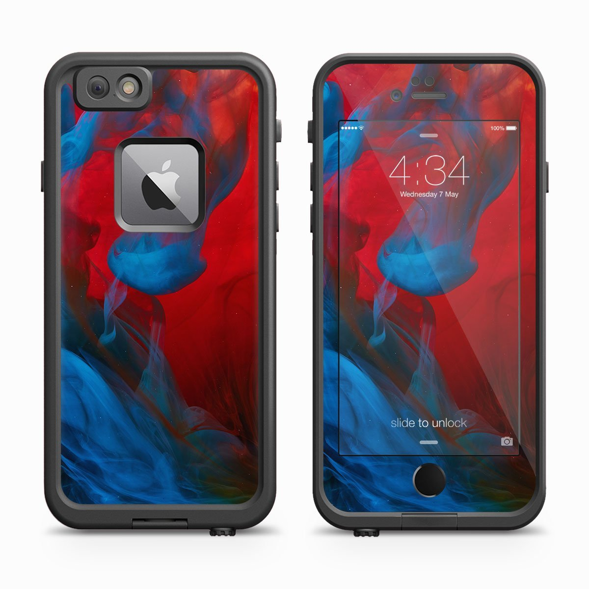 Iphone  Plus Lifeproof Red