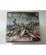 Xbox 360 Console Special Edition Final Fantasy XIII 13 250 GB HDD w/ Box - $132.95