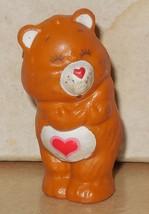 1984 Kenner Care Bears Tenderheart Bear Mini Pvc Figure #3 Vintage 80's #2 - $14.00