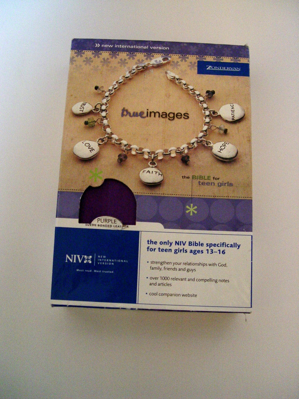 True Images NIV Bible for Girls Ages 13-16  NEW