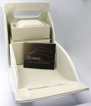 18K WHITE GOLD BRACELET, FRESHWATER PEARLS, DIAMETER 5.5/6 8 MM, BEAUTIFUL BOX  image 5