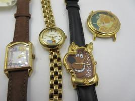 LOT OF 4 Character Watch's 1)Scooby-Doo, 2)Winnie the Pooh & 1)Garfield ... - $2.024,97 MXN