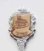 Collector Souvenir Spoon USA Colorado Steamboat Springs Mountain Lodge - $4.99