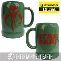 Star Wars Boba Fett Stein 20 OZ. Mandalorian Symbol Ceramic Exclusive