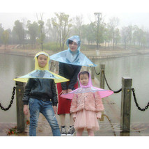 Creative Transparent Head Coat Fishing Golf Cover Child Adult Rain Umbre... - $14.24+