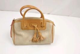 Dooney bourke handbags brown leather trim - $38.79