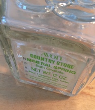 70s Avon Mineral Spring bath salts container (Country Store) image 2
