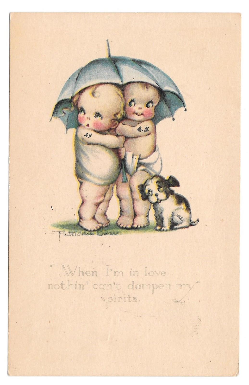 99 br 603 264 ruth welch siver children umbrella dog