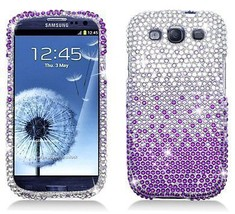 Bling Rhinestone Protector Case for Samsung Galaxy S3 i9300 - Waterfall ... - $7.69