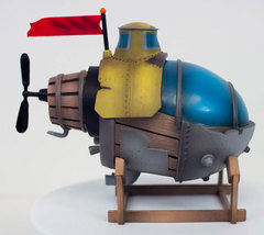 Song of The Deep S.S. Eirnin Statue Submarine + Collector's Box Insomnia... - $129.99