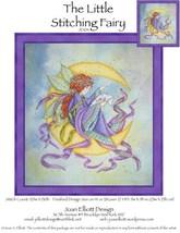 The Little Stitching Fairy JE104 cross stitch chart Joan Elliott Designs - $14.00