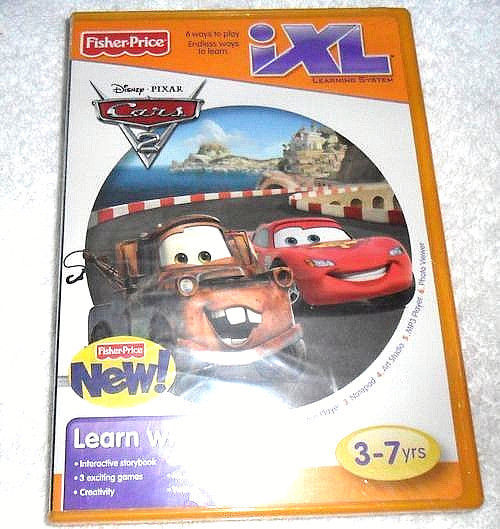 Disney//Pixar Cars 2 Fisher-Price iXL Learning System Software