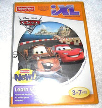 Fisher-Price iXL Learning System Software Disney Pixar Cars  3-7 Yrs. - $4.95