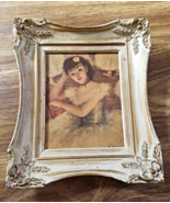 Cherry Jeffe Huldah Print Avant Le Rideau Balerina Dancer 1950s - $19.99