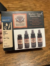 Harley-Davidson Motorcycle Care Starter Kit Cleaning & Gloss Shine Set Multi-Fit - $21.33