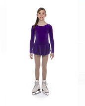Mondor Model 2826 Girls Skating Dress Violet Size 4-6 - $39.99