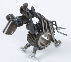 Yardbirds Recycled Metal Sculpture, Chubs the H... - $25.95